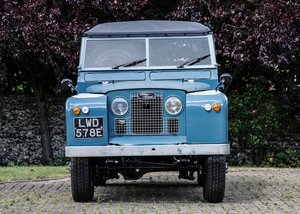 1967 Land Rover Series II Soft Top (88)