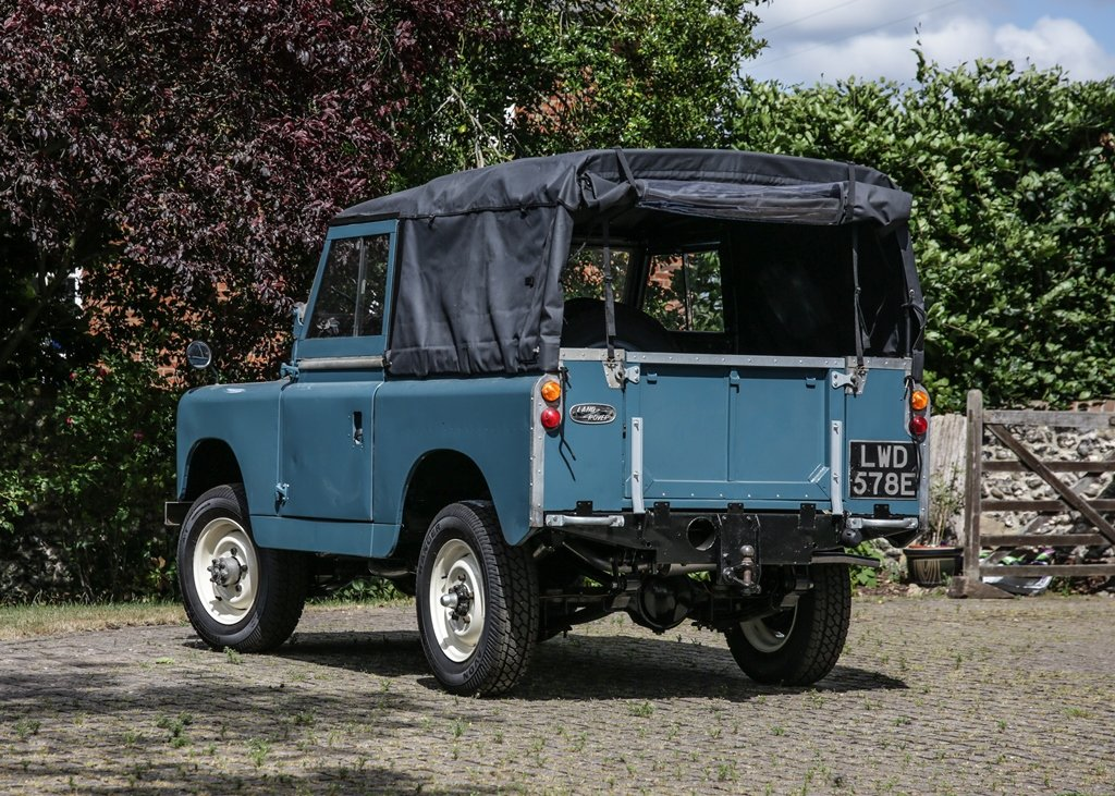 1967 Land Rover Series II Soft Top (88) SOLD by Auction (picture 3 of 6)