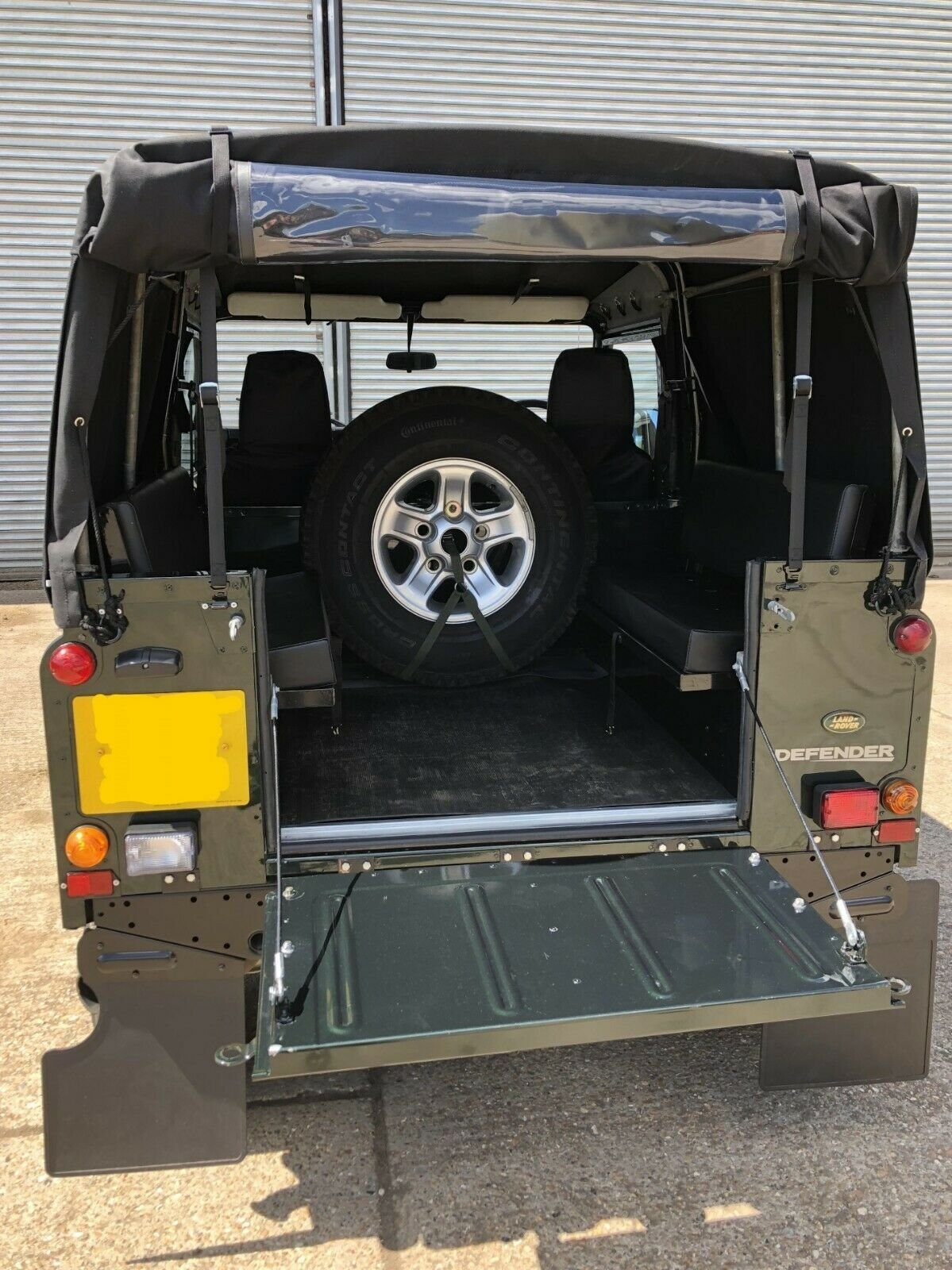 2000  Land Rover Defender 90 TD5 Soft Top For Sale (picture 6 of 6)