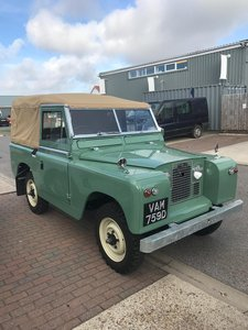 Land Rover series 2A 1966 fully restored