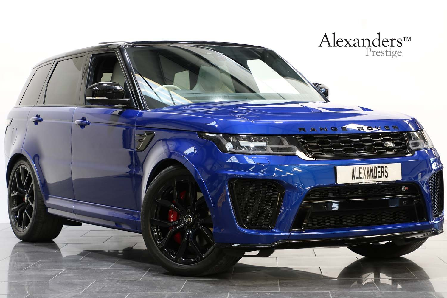 2018 18 RANGE ROVER 5.0 V8 SUPERCHARGED SVR AUTO For Sale (picture 1 of 6)