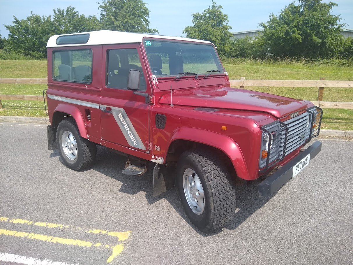 1997 Land Rover 90 County Tdi For Auction Friday 12th July SOLD by Auction (picture 1 of 6)