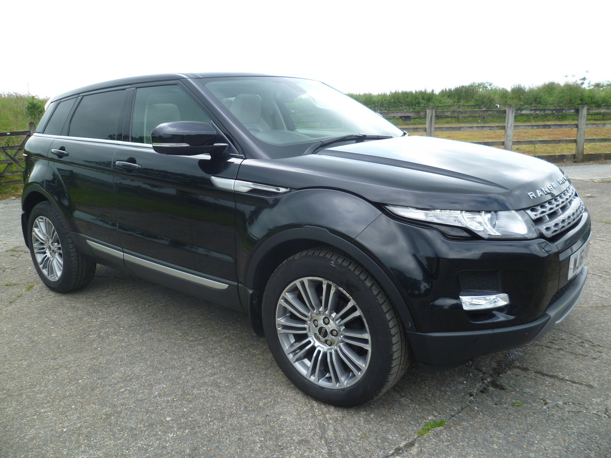 2011 Range Rover Evoque Prestige Lux SD4 Auto For Sale (picture 1 of 6)