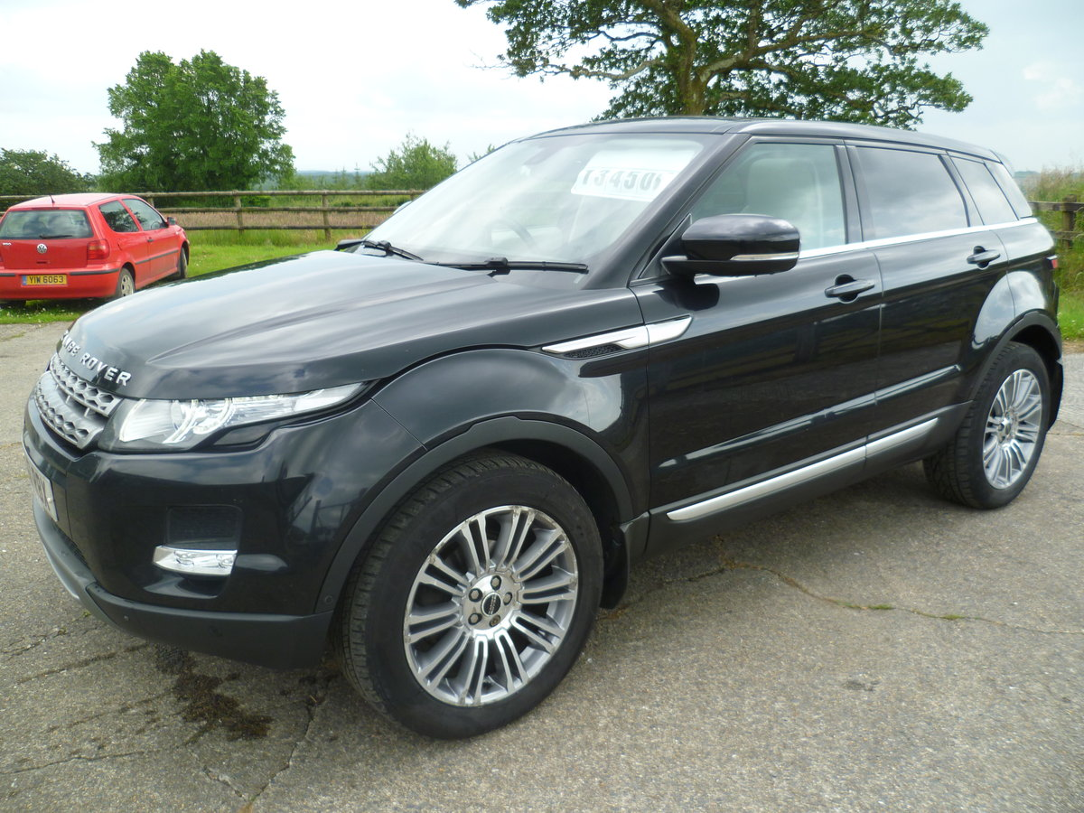 2011 Range Rover Evoque Prestige Lux SD4 Auto For Sale (picture 2 of 6)