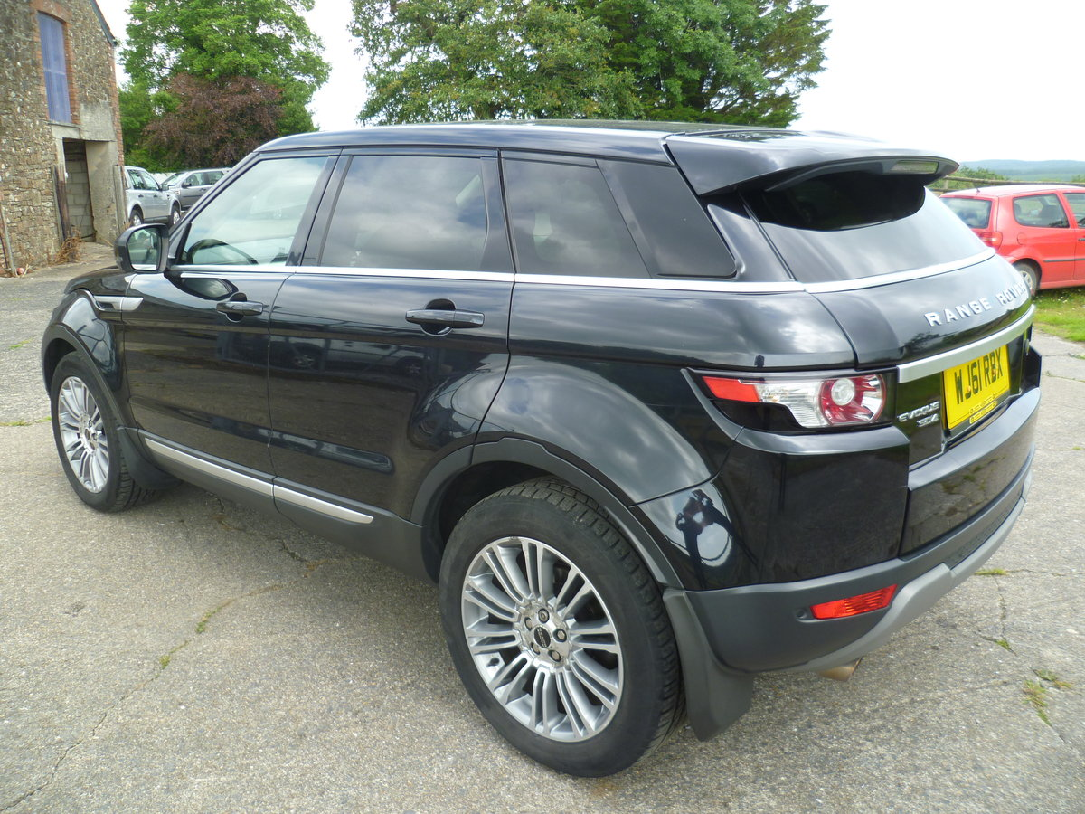 2011 Range Rover Evoque Prestige Lux SD4 Auto For Sale (picture 3 of 6)
