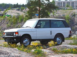 1994 RANGE ROVER 200 TDI 4X4 ESTATE For Sale by Auction
