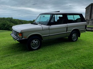 1991 Range rover two door  Silverfox Edition For Sale