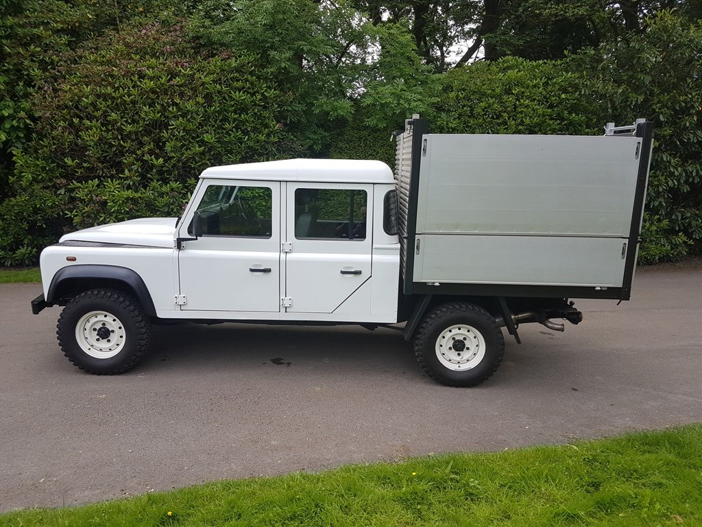 2014 LAND ROVER DEFENDER 130 DOUBLE CAB TIPPER For Sale (picture 3 of 6)
