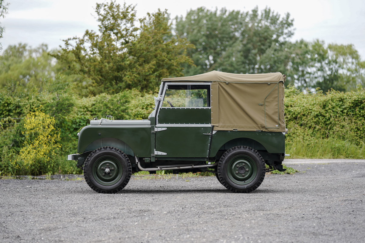 1952 Land Rover Series 1 80 1953 Model Year Restoration For Sale (picture 2 of 6)