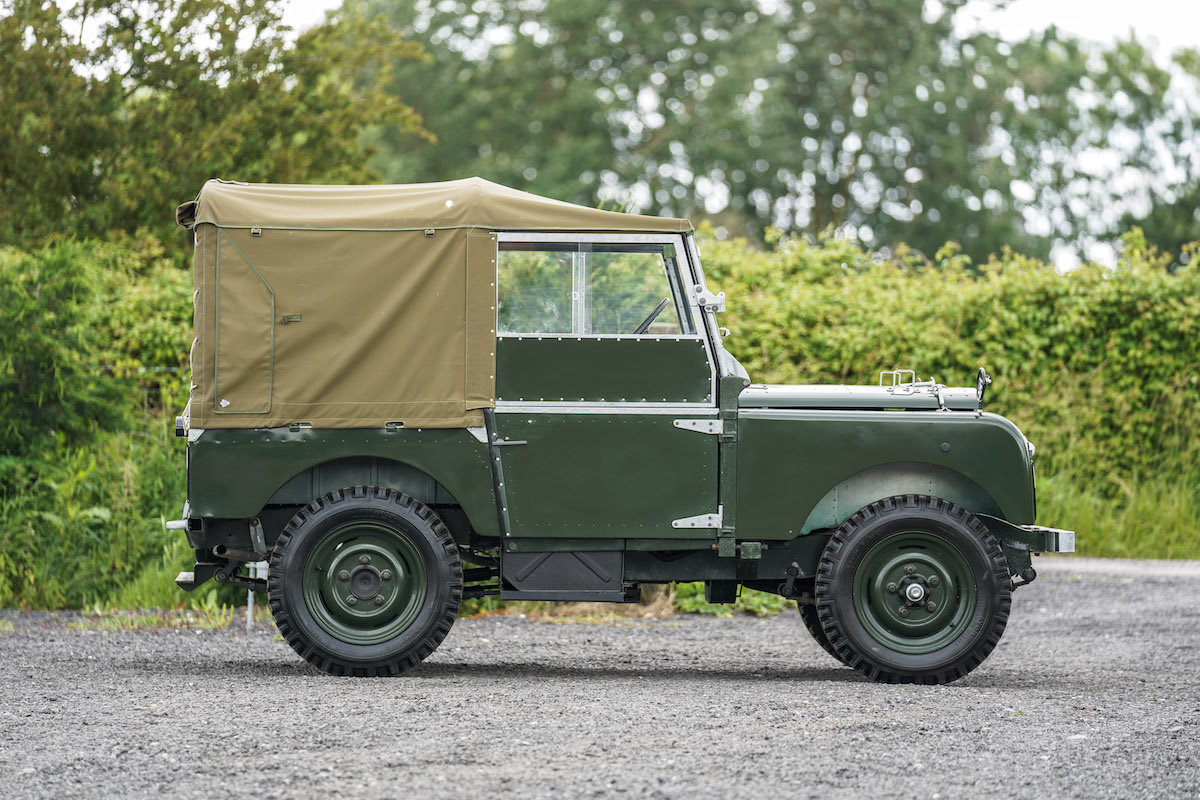 1952 Land Rover Series 1 80 1953 Model Year Restoration For Sale (picture 3 of 6)