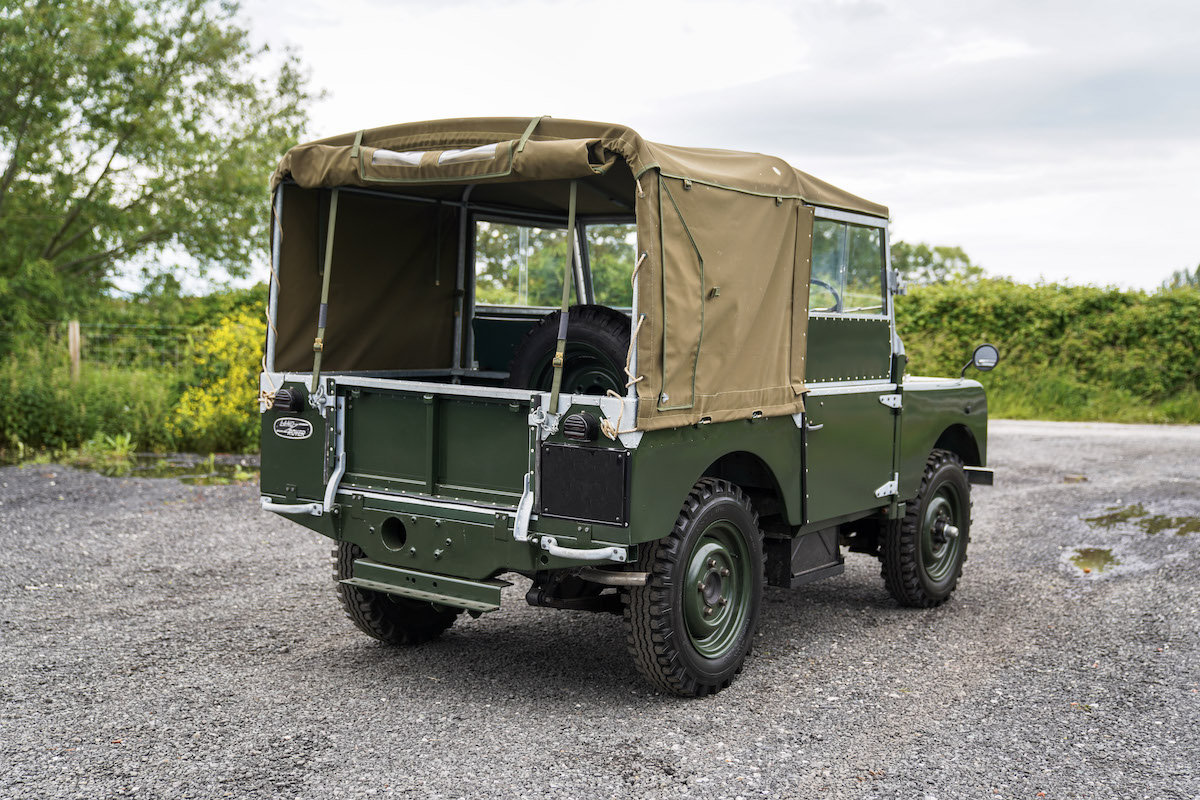 1952 Land Rover Series 1 80 1953 Model Year Restoration For Sale (picture 4 of 6)