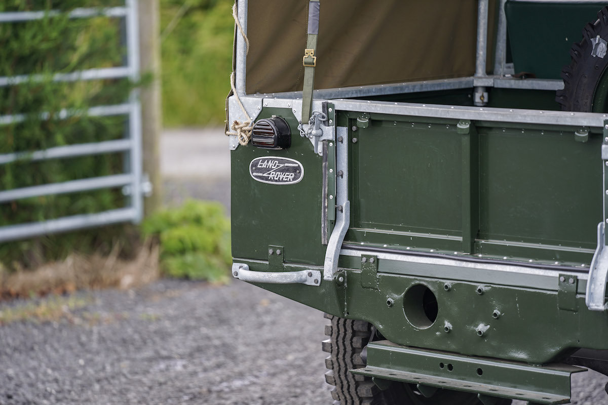 1952 Land Rover Series 1 80 1953 Model Year Restoration For Sale (picture 5 of 6)