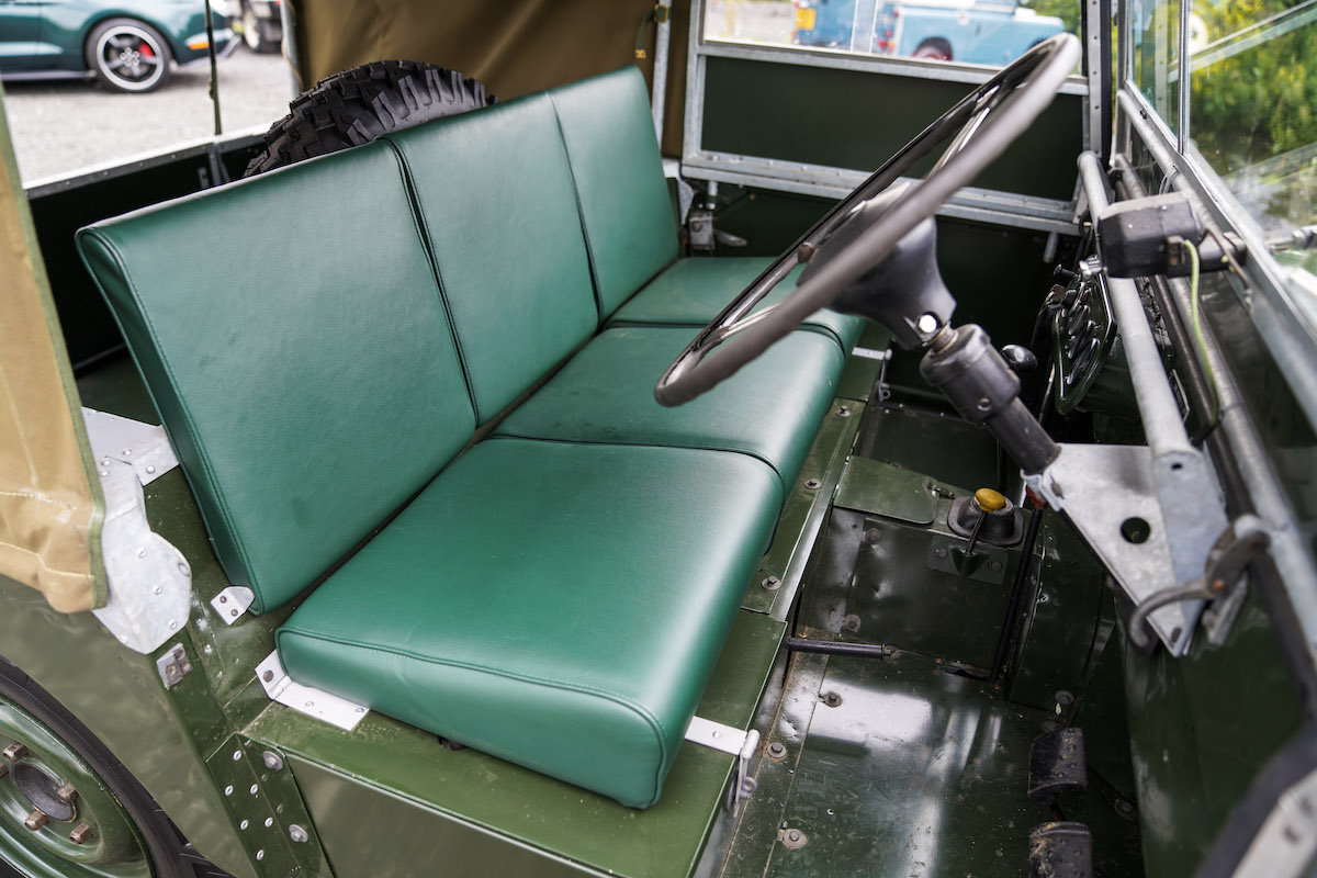 1952 Land Rover Series 1 80 1953 Model Year Restoration For Sale (picture 6 of 6)
