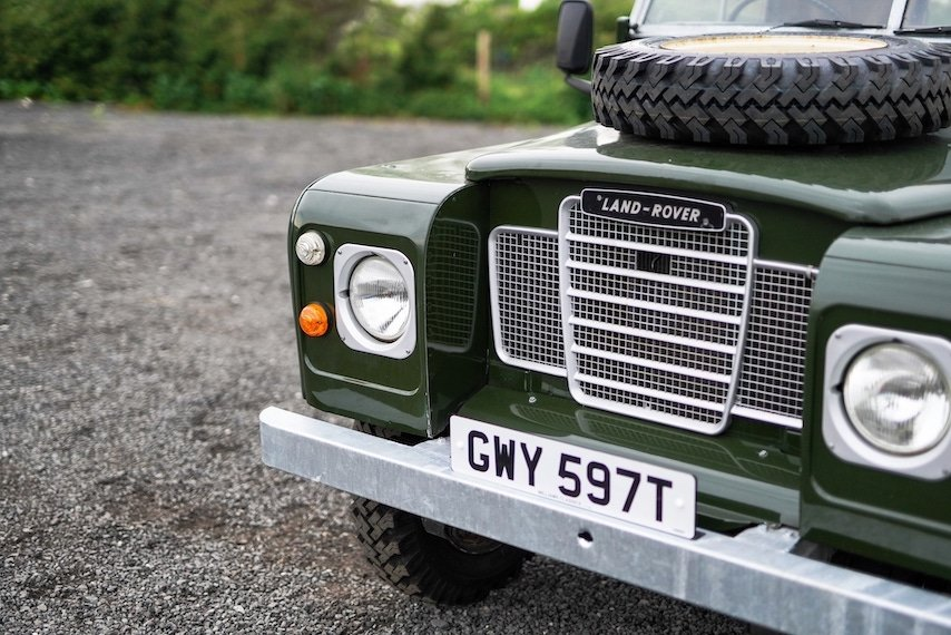 Land Rover Series 3 88 Bronze Green 1979 Soft Top   GWY 597T For Sale (picture 2 of 6)