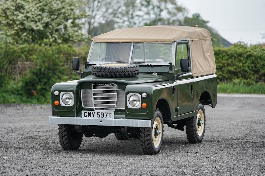 Land Rover Series 3 88 Bronze Green 1979 Soft Top   GWY 597T SOLD (picture 3 of 6)