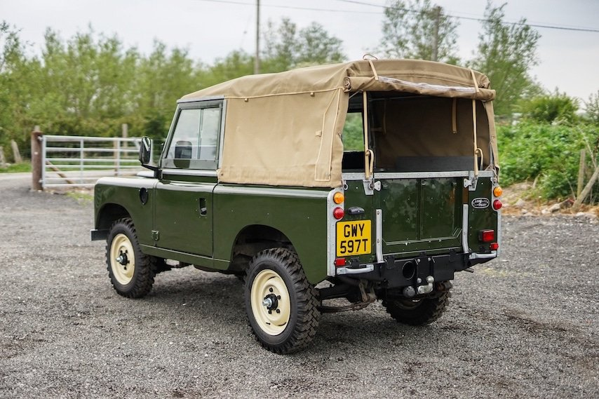 Land Rover Series 3 88 Bronze Green 1979 Soft Top   GWY 597T SOLD (picture 5 of 6)