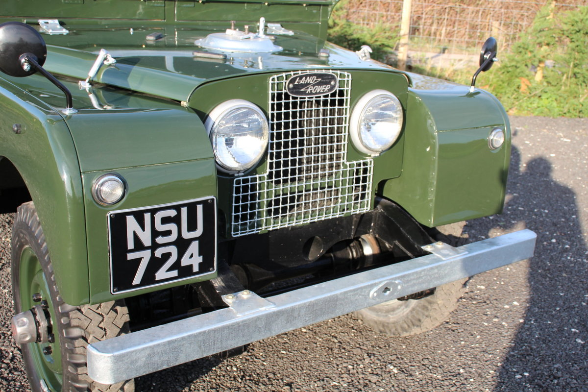 Land Rover Series 1 86 Soft Top 1954 Model Year (NSU 724) SOLD (picture 3 of 6)