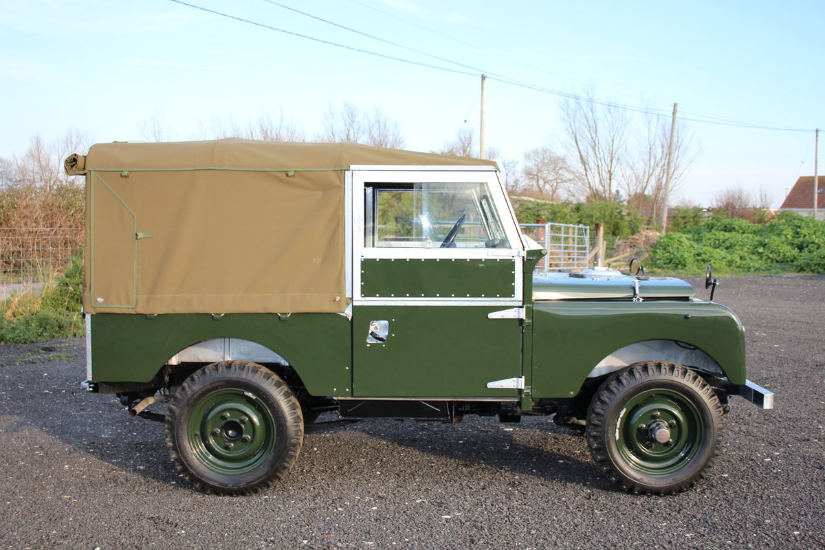 Land Rover Series 1 86 Soft Top 1954 Model Year (NSU 724) SOLD (picture 4 of 6)