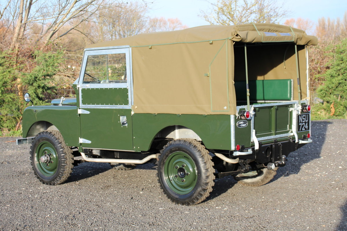 Land Rover Series 1 86 Soft Top 1954 Model Year (NSU 724) SOLD (picture 5 of 6)