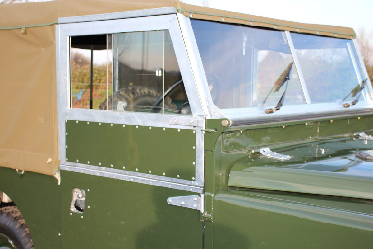 Land Rover Series 1 86 Soft Top 1954 Model Year (NSU 724) SOLD (picture 6 of 6)