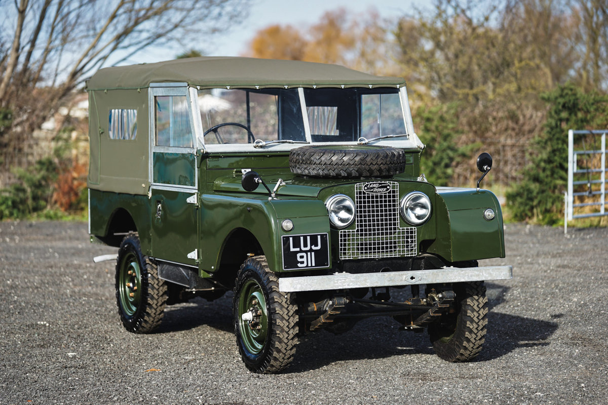Land Rover Series 1 86 Soft Top 1955 Nut & Bolt Restoration  For Sale (picture 2 of 6)