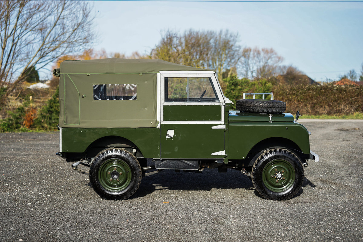 Land Rover Series 1 86 Soft Top 1955 Nut & Bolt Restoration  For Sale (picture 3 of 6)