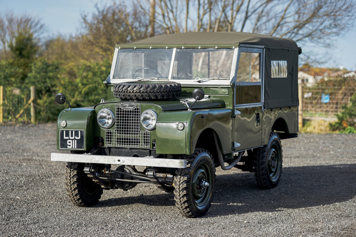 Land Rover Series 1 86 Soft Top 1955 Nut & Bolt Restoration  For Sale (picture 4 of 6)