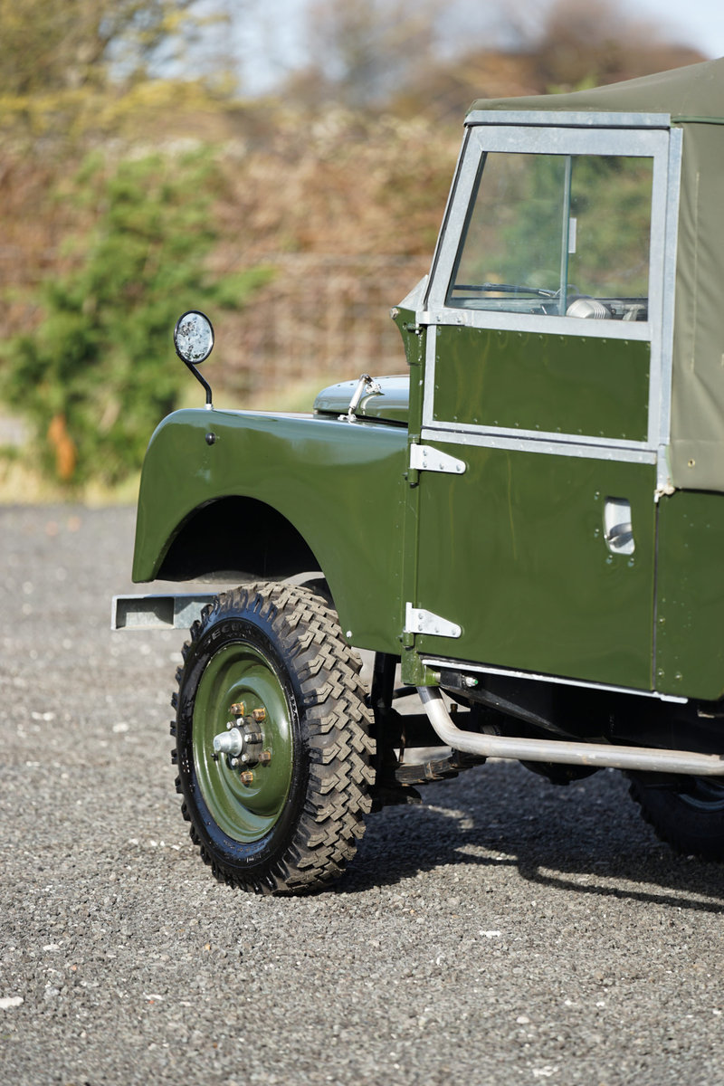 Land Rover Series 1 86 Soft Top 1955 Nut & Bolt Restoration  For Sale (picture 5 of 6)