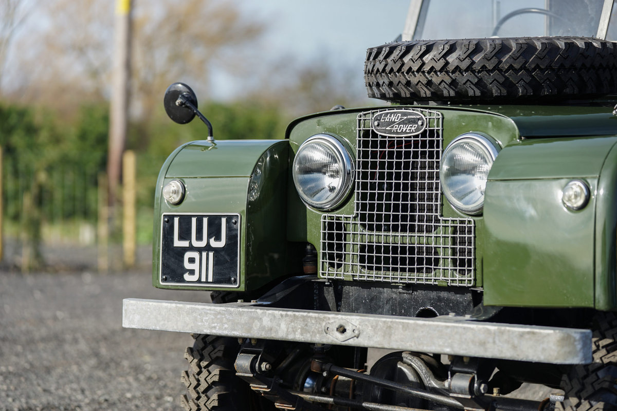 Land Rover Series 1 86 Soft Top 1955 Nut & Bolt Restoration  For Sale (picture 6 of 6)