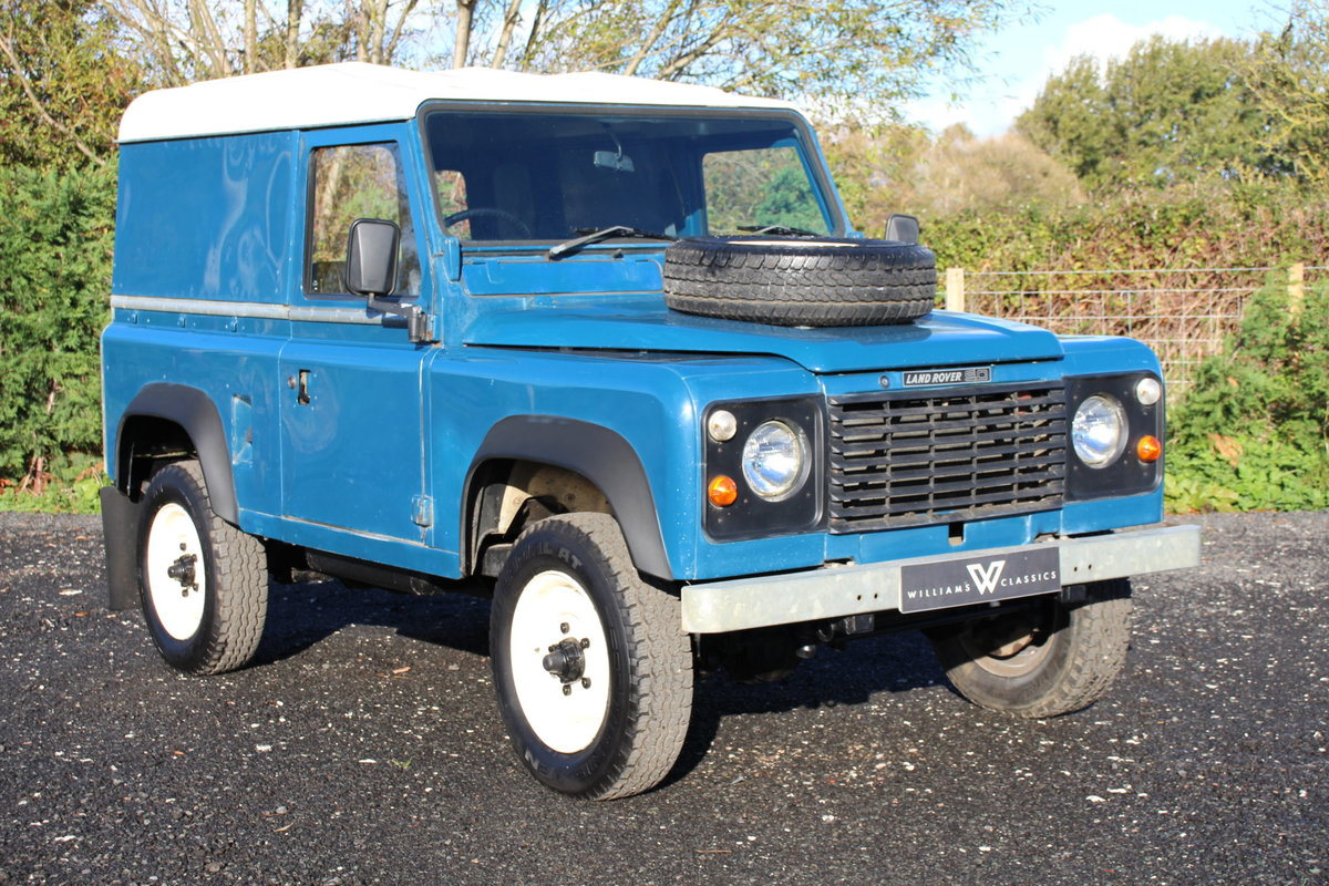 Land Rover 90 1986 Defender Hardtop Original Condition For Sale (picture 1 of 6)
