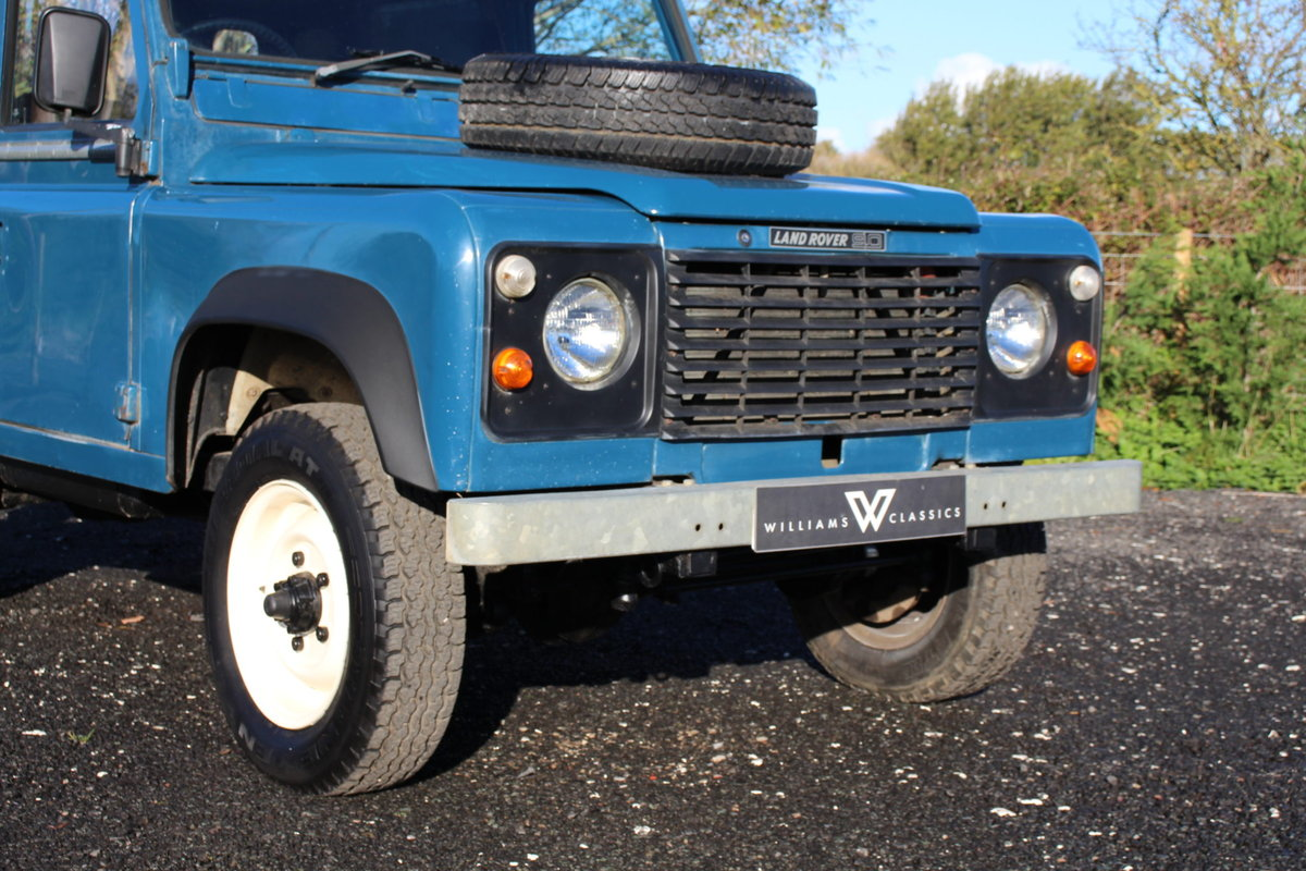 Land Rover 90 1986 Defender Hardtop Original Condition For Sale (picture 2 of 6)
