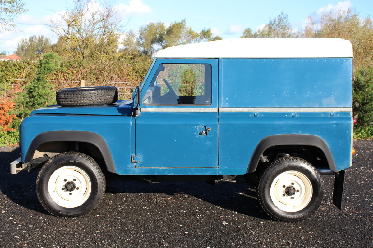 Land Rover 90 1986 Defender Hardtop Original Condition For Sale (picture 4 of 6)