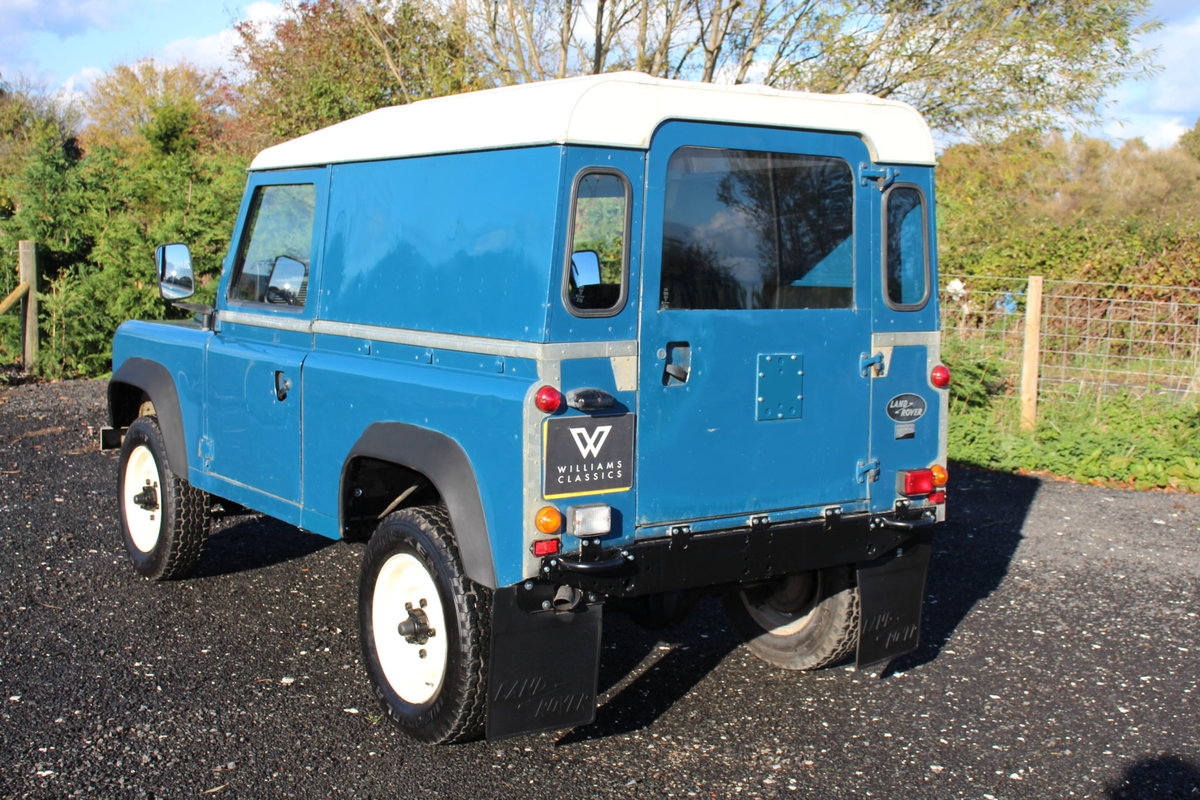 Land Rover 90 1986 Defender Hardtop Original Condition For Sale (picture 6 of 6)