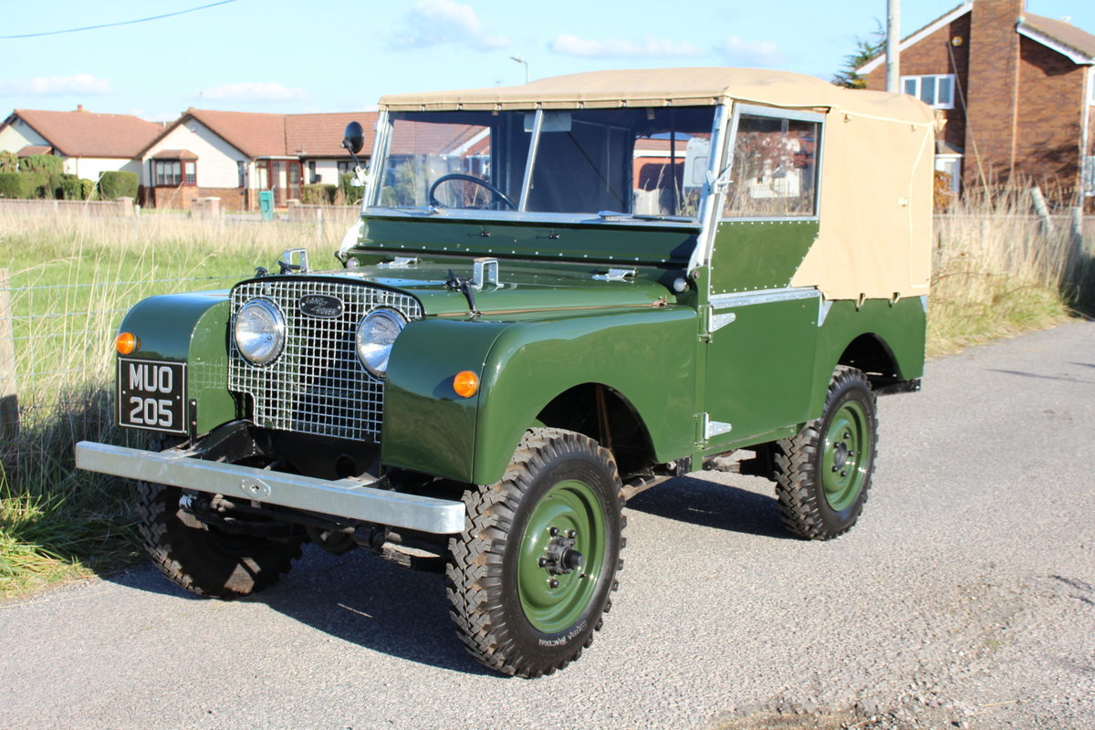 Land Rover Series 1 80 1951 Model in Great Condition (MUO 20 For Sale (picture 1 of 6)