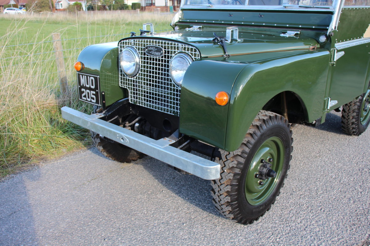 Land Rover Series 1 80 1951 Model in Great Condition (MUO 20 For Sale (picture 2 of 6)