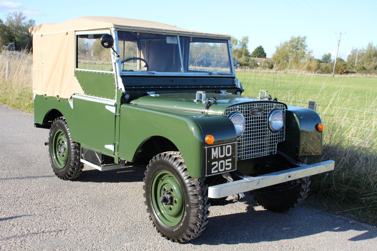 Land Rover Series 1 80 1951 Model in Great Condition (MUO 20 For Sale (picture 4 of 6)