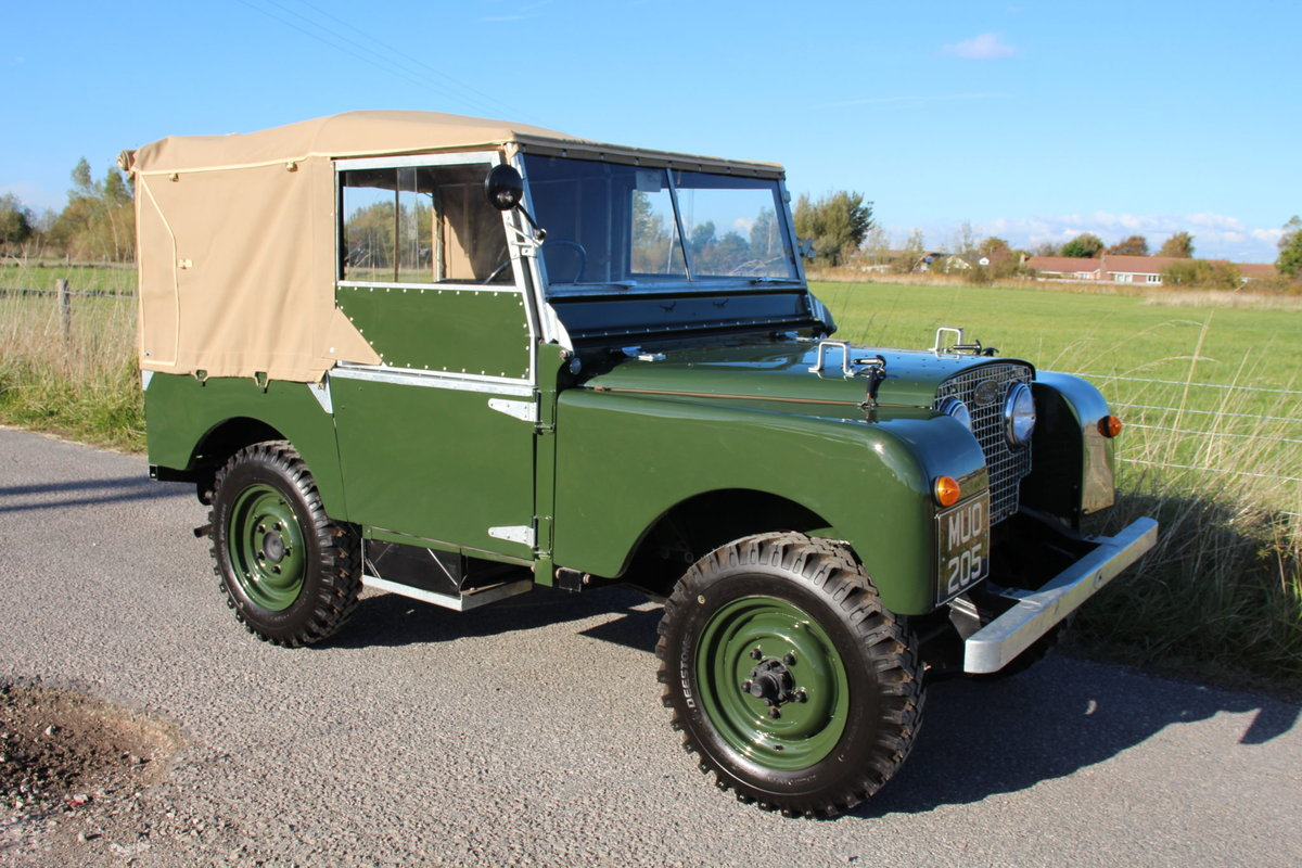 Land Rover Series 1 80 1951 Model in Great Condition (MUO 20 For Sale (picture 6 of 6)