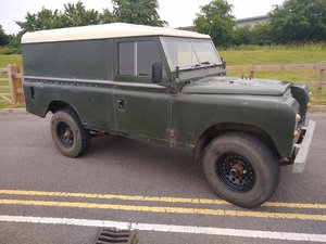 1980 Land Rover Series 3 for Auction Friday 12th July SOLD by Auction