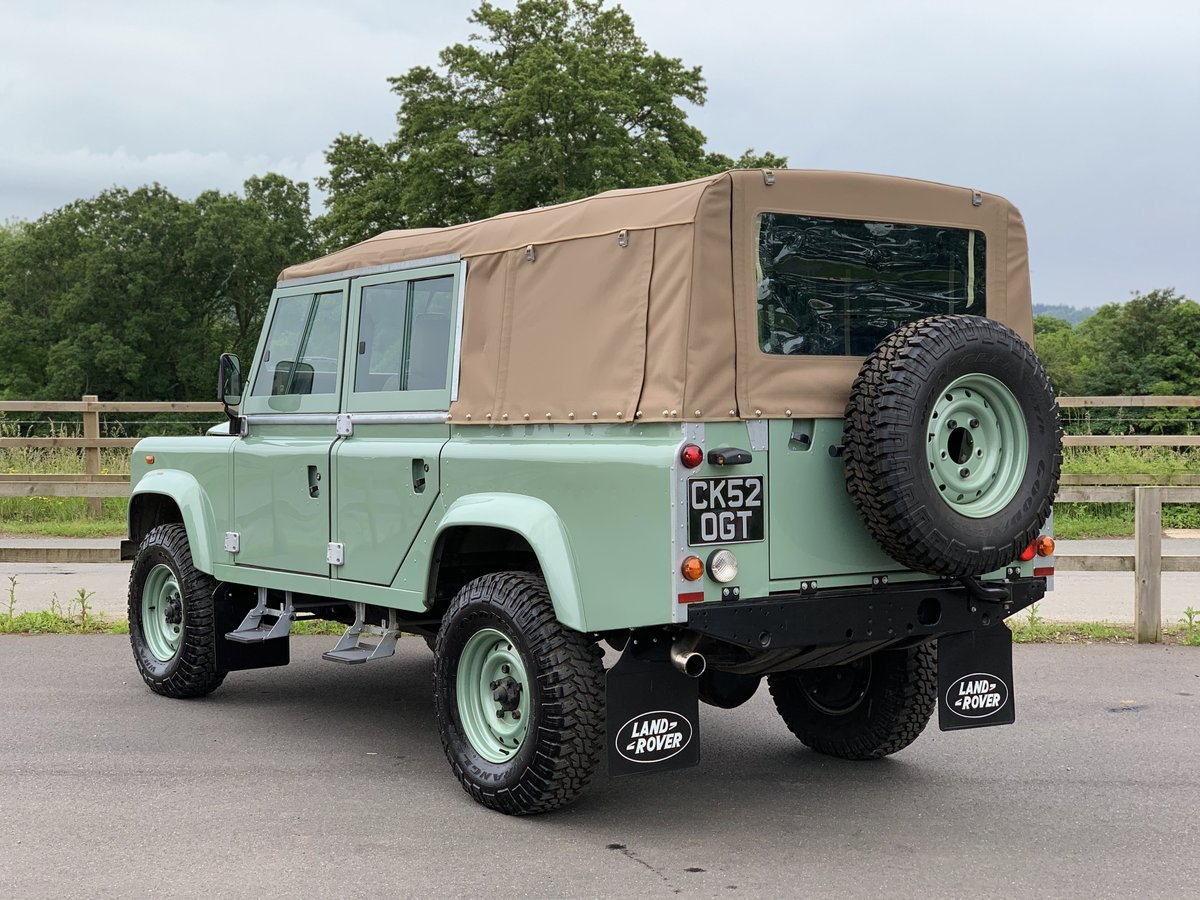 2002 Land Rover Defender 110 Safari  For Sale (picture 4 of 12)