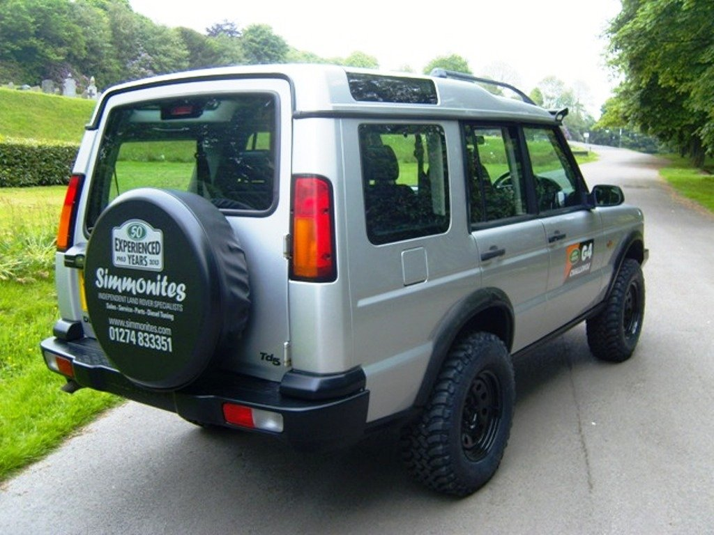 2003 LAND ROVER DISCOVERY II TD5 MANUAL OFF ROADER For Sale (picture 3 of 6)