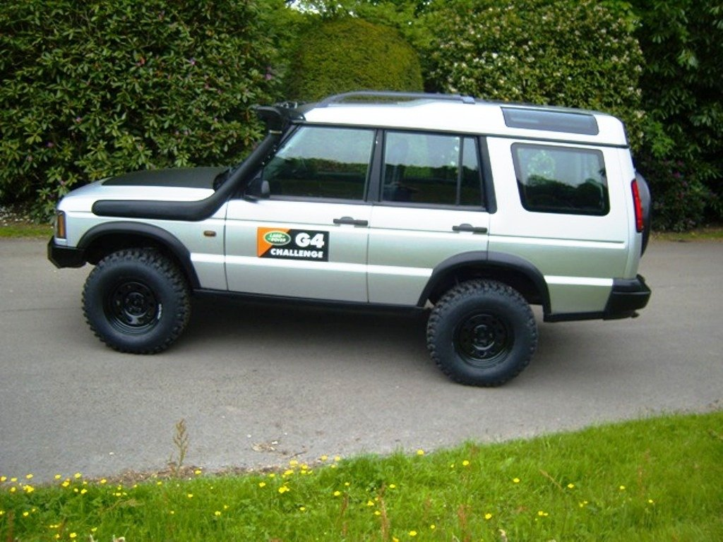 2003 LAND ROVER DISCOVERY II TD5 MANUAL OFF ROADER For Sale (picture 4 of 6)