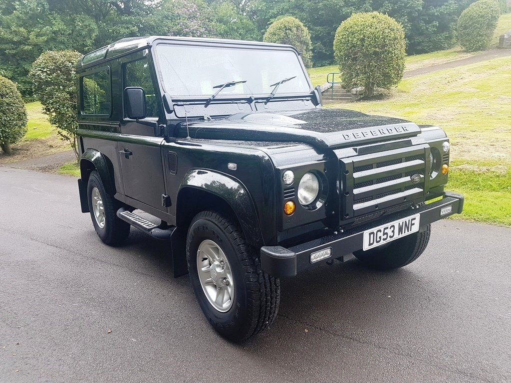 2003 LAND ROVER DEFENDER 90 TD5 COUNTY STATION WAGON For Sale (picture 1 of 6)