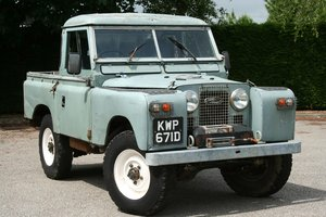 1966 Land Rover Series 2a 88 For Sale