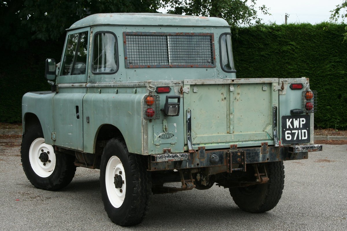 1966 Land Rover Series 2a 88 For Sale (picture 6 of 6)