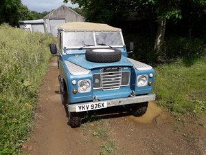 "1982 Landrover Series 3 88"" V8 For Sale"