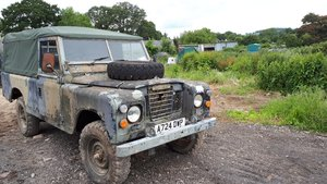 1983 EX Military Landrover For Sale