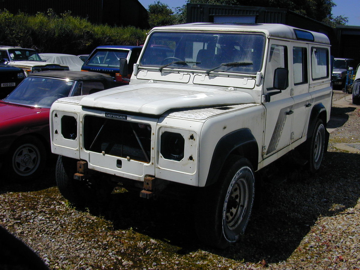 1990 LAND ROVER 110 3.5 V8 Manual CSW - Ideal USA Export Stock! For Sale (picture 2 of 6)