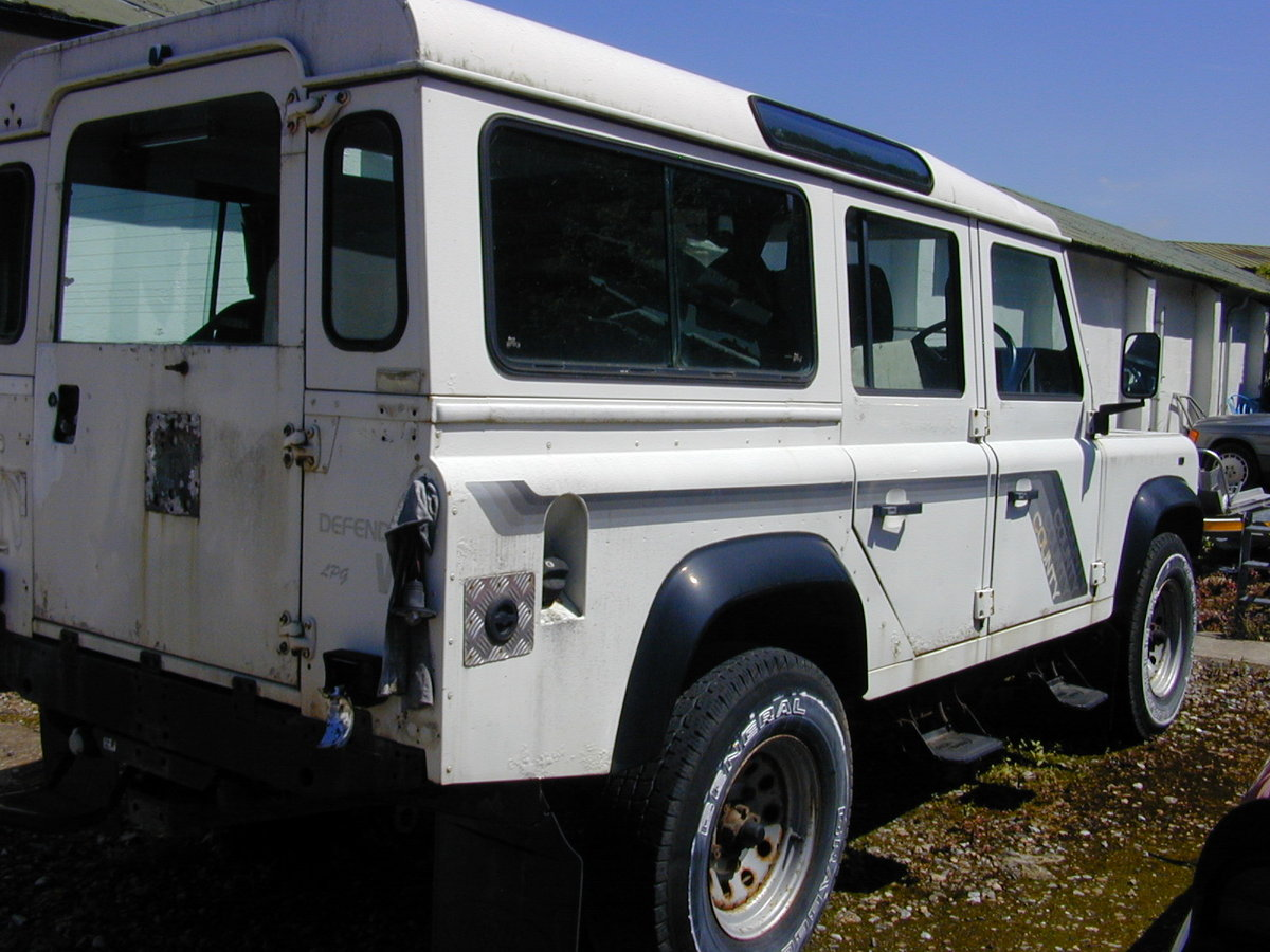1990 LAND ROVER 110 3.5 V8 Manual CSW - Ideal USA Export Stock! For Sale (picture 4 of 6)