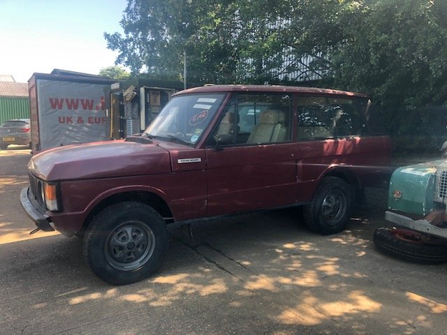 1971 Classic Range Rover. Suffix A SOLD (picture 1 of 6)