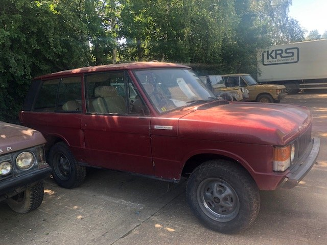 1971 Classic Range Rover. Suffix A SOLD (picture 2 of 6)